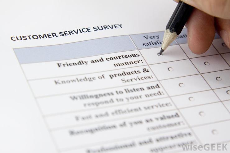 khảo sát khách hàng