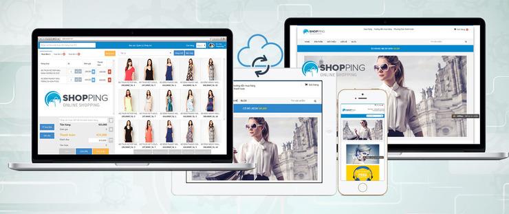 kinh nghiệm mở shop quần áo online - cần có trang bán hàng tốt