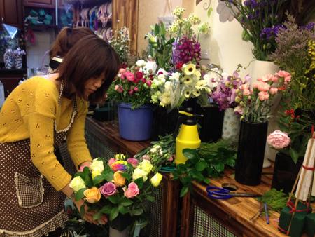 Bí quyết thành công cho shop hoa tươi