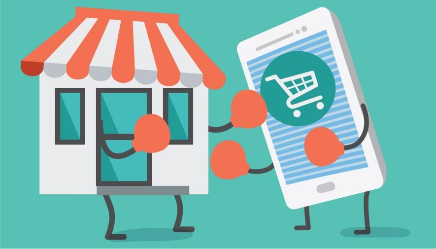 black friday và cyber monday còn là dịp cạch tranh quyết liệt giữa bán lẻ và thương mại điện tử