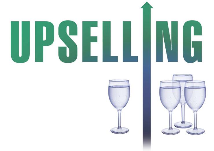 tìm cách upsell hoặc cross-sell