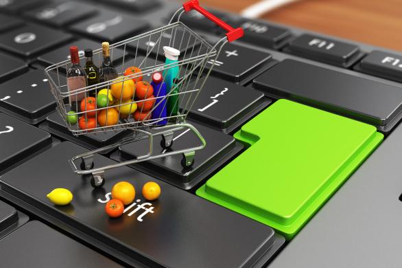 Kết quả hình ảnh cho tương lai của cửa hàng tạp hóa online