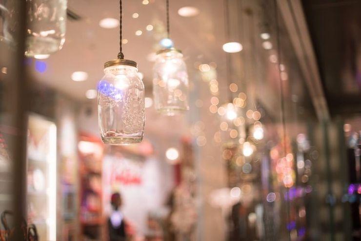 hệ thống chiếu sáng cho cửa hàng
