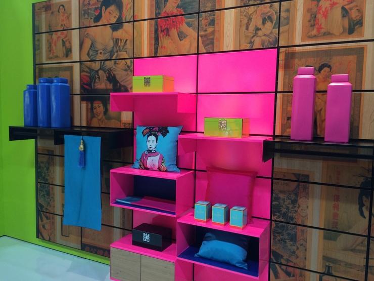 vai trò của màu sắc trong bài trí cửa hàng
