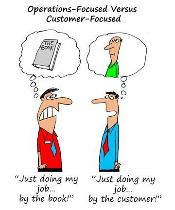 Luôn lấy khách hàng làm trung tâm