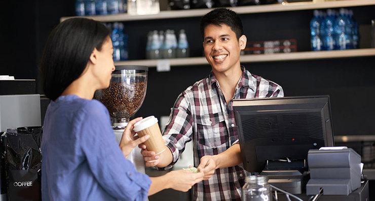 phong cách phục vụ trong quán cà phê rất quan trọng