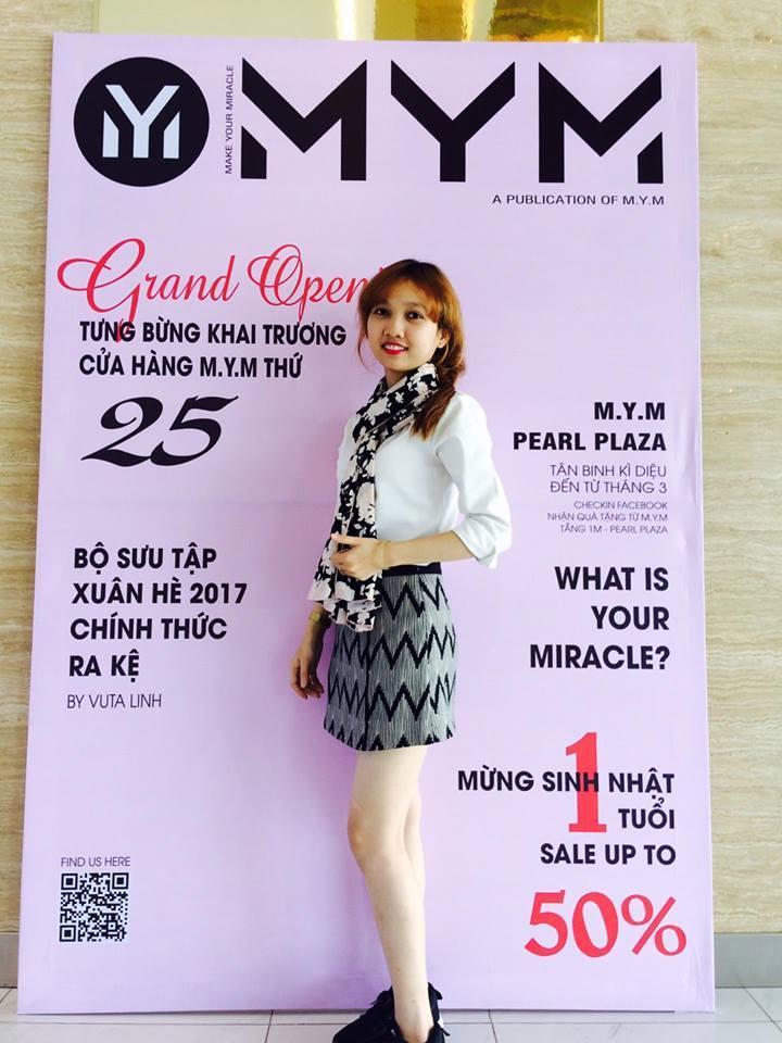 Thương hiệu MYM đã có một chiến dịch thu hút khách hàng rất thành công