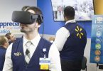 nhân viên của walmart được đào tạo bằng công nghệ thực tế ảo