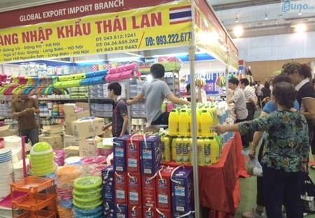 Hàng tiêu dùng Thái Lan được hỗ trợ bài bản để đổ bộ thị trường Việt Nam