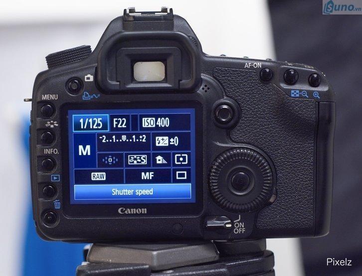 thiết lập thông số máy ảnh trước khi chụp