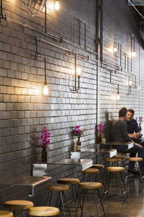 Mơt quán cafe: trang trí quán cà phê với phong cách công nghiệp 2