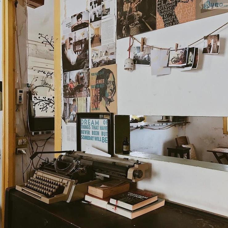 Trang trí quán cà phê theo phong cách hoài cổ 2