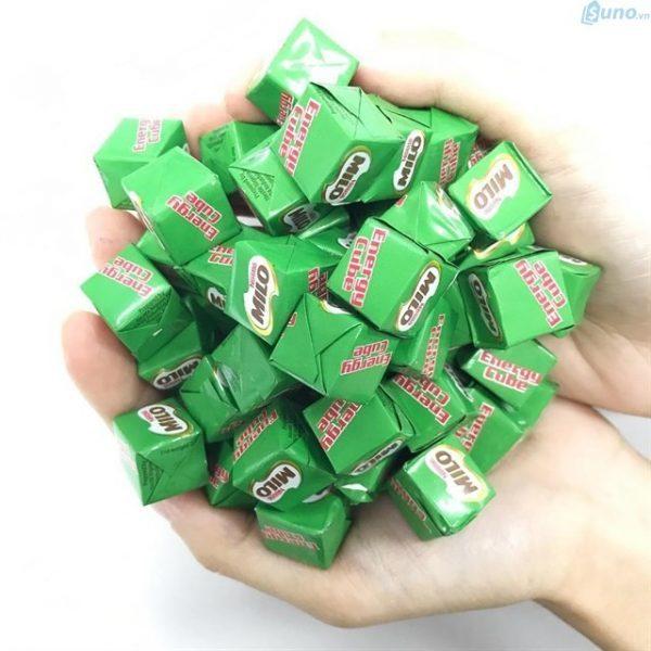 Những món ăn vặt dễ kinh doanh - Milo Cube