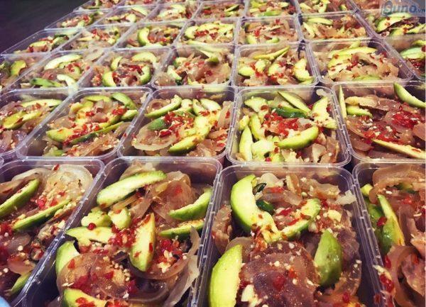 Những món ăn vặt dễ kinh doanh - Cóc dầm gân bò