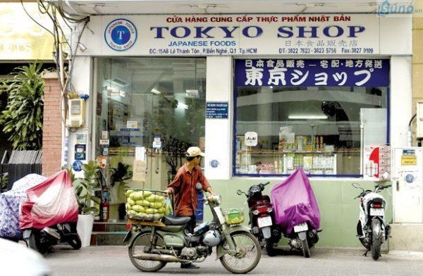 Bán buôn hàng tiêu dùng Nhật