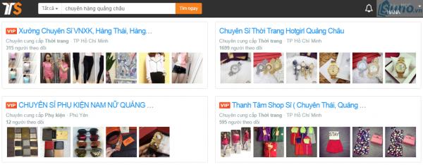 Lấy sỉ quần áo Quảng Châu trên thị trường sỉ
