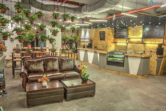 ý tưởng trang trí quán cafe
