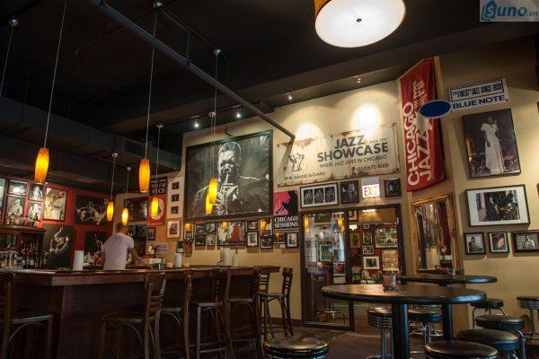 Trang trí quán cafe theo phong cách jazz coffee