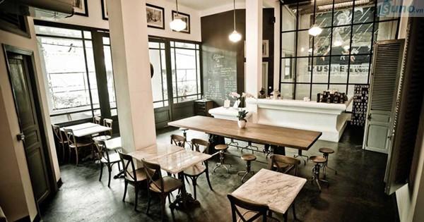 Ý tưởng trang trí quán cafe hút khách