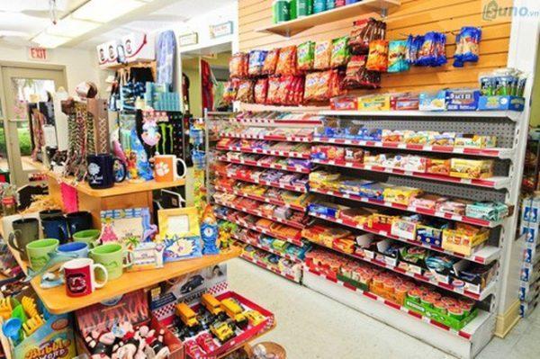 Mặt hàng kinh doanh siêu thị mini đa dạng