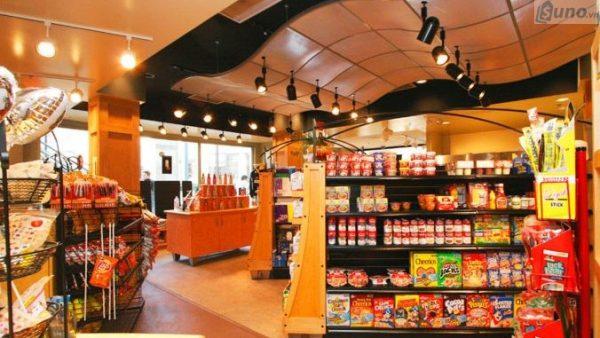 Mô hình siêu thị mini- tạp hóa