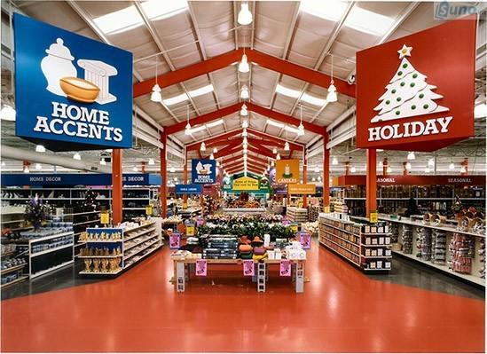 5 cách trang trí cửa hàng tiết kiệm cho dịp năm mới