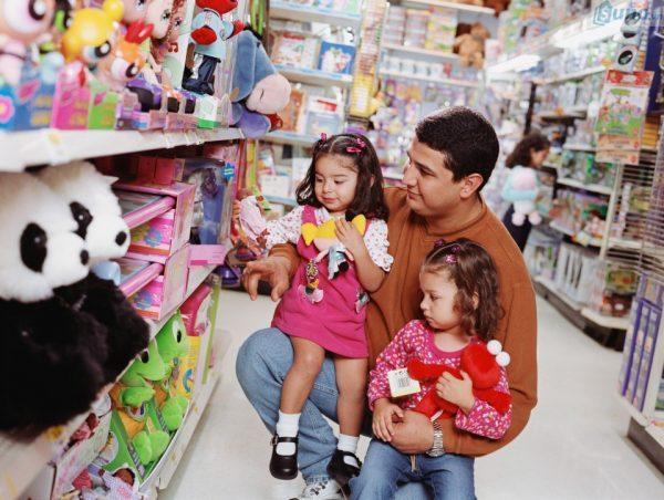 cửa hàng bán đồ chơi thông minh cho bé