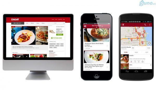 Website nhà hàng phải thân thiện ở cả giao diện máy tính và điện thoại