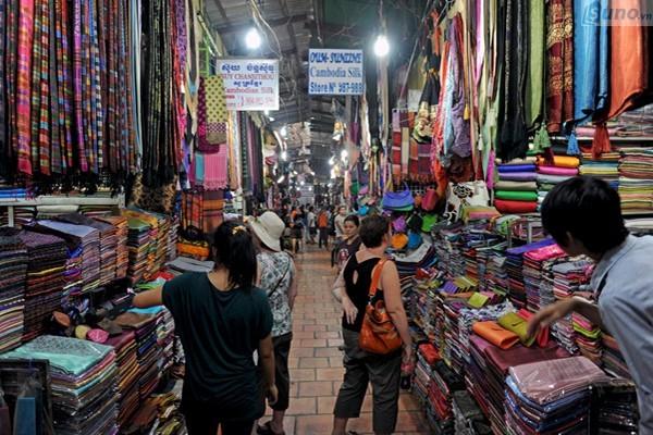 Chợ đầu mối quần áo giá sỉ