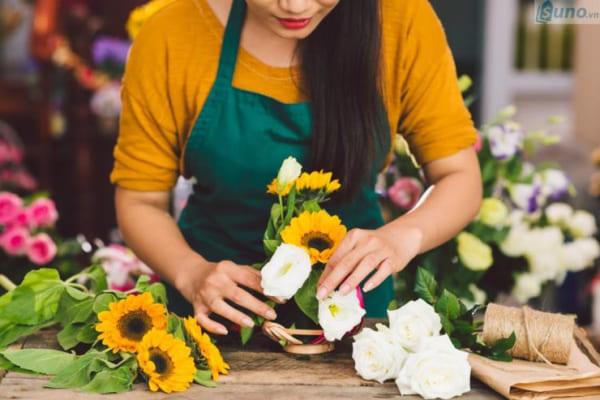 cách bảo quản hoa tươi lâu, dễ thực hiện