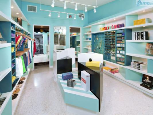 thiết kế shop thời trang cần có chủ đề