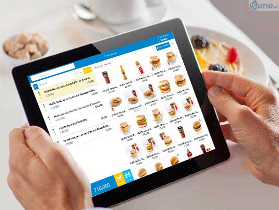 phần mềm quản lý nhà hàng, quán ăn