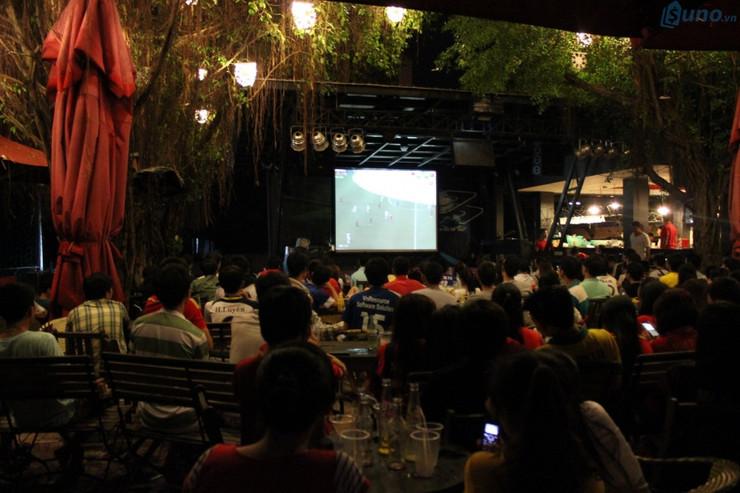 quán cà phê là ngành thu lời mùa world cup