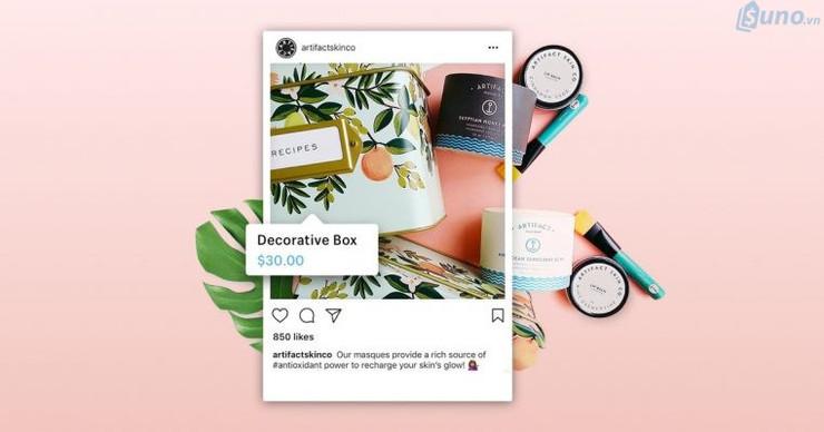 Đăng hình ảnh sản phẩm của bạn lên tài khoản Instagram và bắt đầu bán hàng thôi!