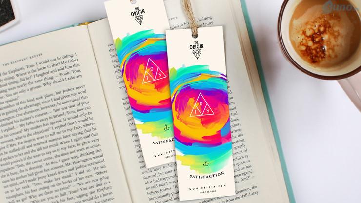 marketing cho cửa hàng sách bằng thẻ bookmark