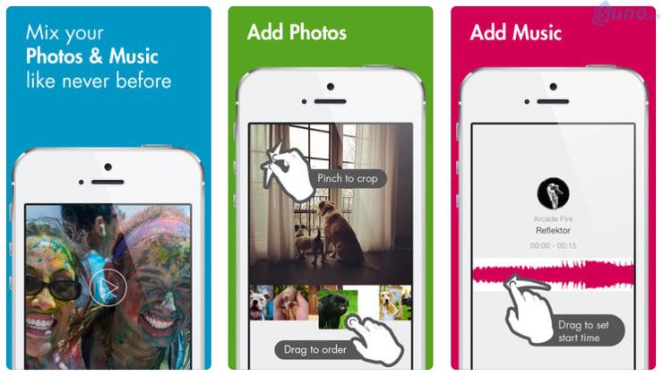 Ứng dụng làm slideshow cho iphone