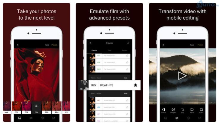 vsco là ứng dụng hữu ích để bán hàng trên instagram
