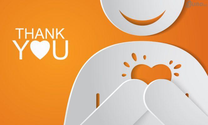 Hãy cảm ơn vì khách hàng đã liên hệ với bạn