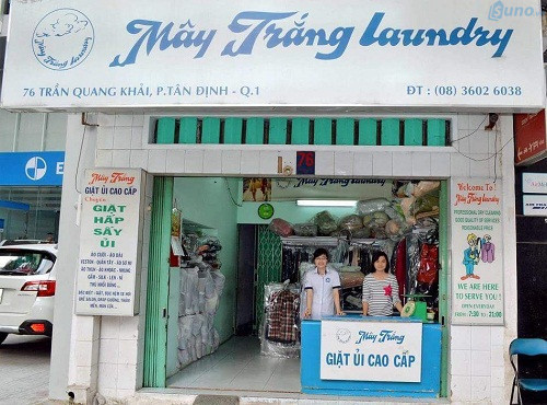 Mặt bằng mở cửa hàng giặt sấy không cần phải quá rộng nhưng cần đảm bảo thoáng mát, sạch sẽ