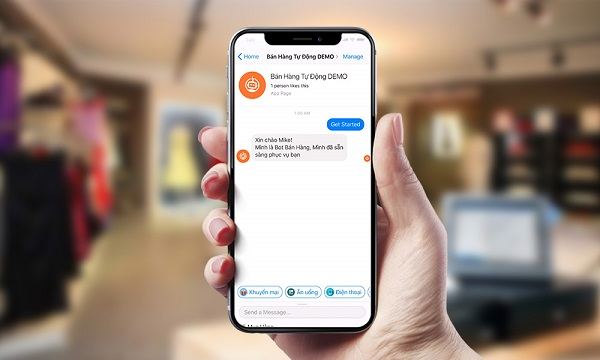 Xu hướng công nghệ ứng dụng AI để xây dựng chattbot, hứa hẹn sẽ là công cụ giúp tăng doanh thu bán hàng ngành bán lẻ
