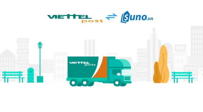 SUNO tích hợp Viettel Pos vào Phần mềm Quản lý bán hàng