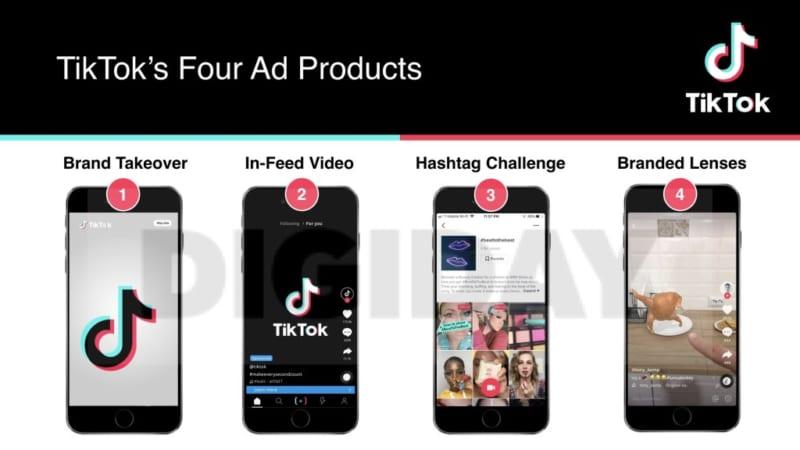 Các dạng quảng cáo TikTok chủ yếu hiện nay