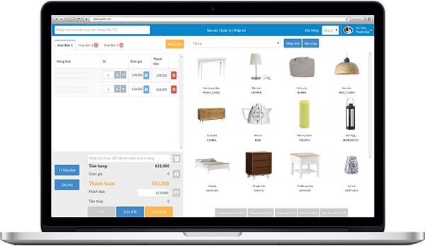 pos - phần mềm quản lý bán hàng cửa hàng nội thất