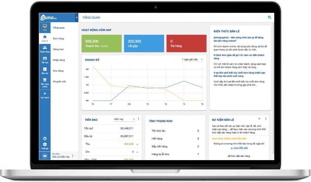 Phần mềm quản lý bán hàng giúp quản lý cửa hàng chặt chẽ, chuyên nghiệp