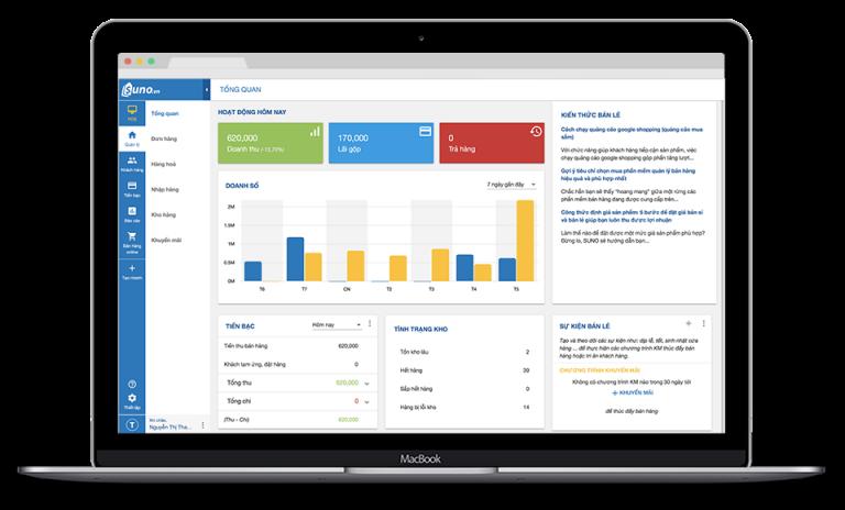 Phần mềm quản lý bán hàng với giao diện trực quan